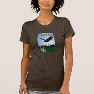 Alaska Adler- u. Fireweed-Shirt - Damen T-Shirt