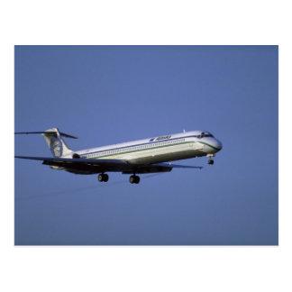 Alaska Airlines MD-80 Postkarte