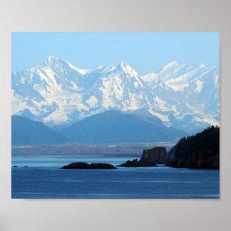 Alaska-Berge 552 Poster