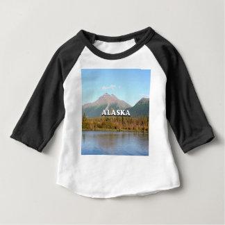 Alaska: Berge, Wald und Fluss, USA Baby T-shirt