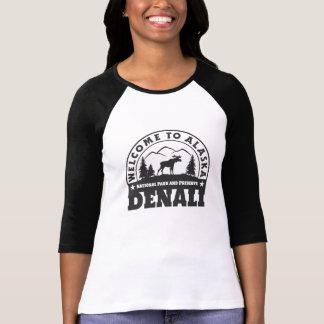 Alaska. Denali Nationalpark und Konserve T-Shirt