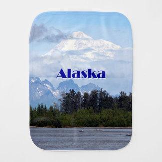 Alaska: Denali, Wald, Fluss, Berge 1 Baby Spucktuch