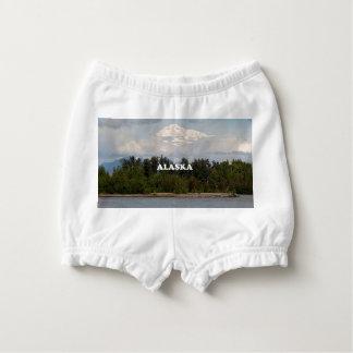 Alaska: Denali, Wald, Fluss, Berge, USA 2 Baby-Windelhöschen