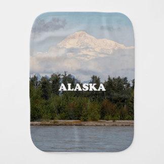 Alaska: Denali, Wald, Fluss, Berge, USA 2 Spucktuch
