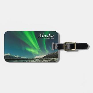 Alaska die Vorhang-Aufstiege Gepäckanhänger