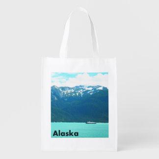 Alaska-Fähre Wiederverwendbare Einkaufstasche