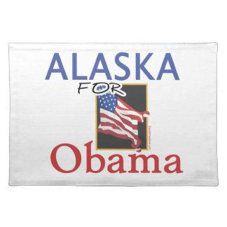 Alaska für Obama-Wahl Tischsets