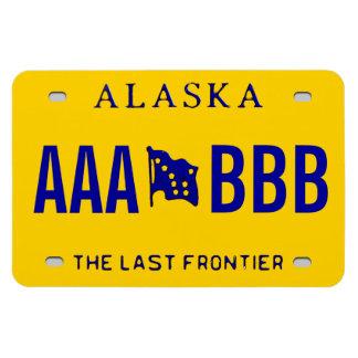 Alaska-Gewohnheits-Kfz-Kennzeichen Magnet
