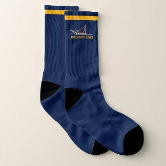 Alaska-Hundeschlitten-Postfördermaschine Socken