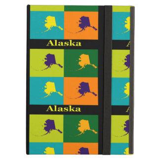 Alaska-Karten-Silhouette-Pop-Kunst