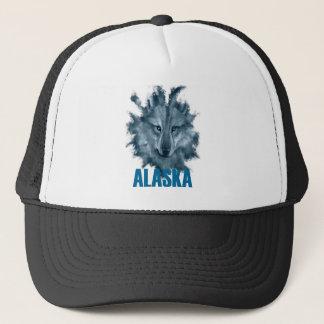 Alaska - König Of Wolves.png Truckerkappe