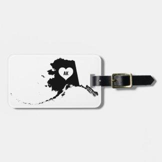Alaska-Liebe Gepäckanhänger