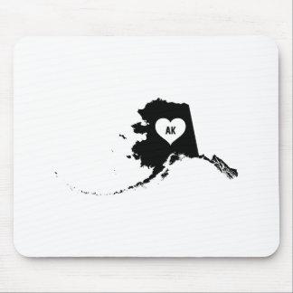 Alaska-Liebe Mousepad