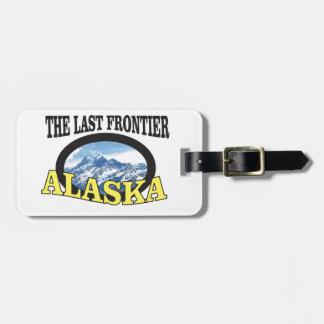 Alaska-Logokunst Kofferanhänger