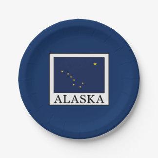 Alaska Pappteller