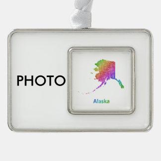 Alaska Rahmen-Ornament Silber