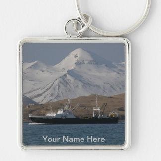 Alaska-Sieg, Fabrik-Schleppnetzfischer F.C.A. Schlüsselanhänger