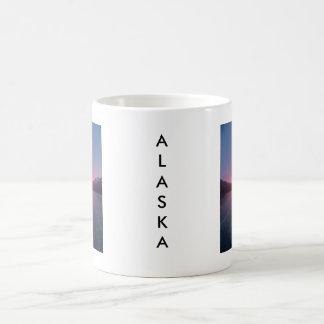 Alaska-Sonnenuntergang Kaffeetasse