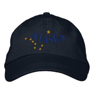 Alaska-Staats-Flaggen-Entwurfs-Stickerei Bestickte Baseballmützen