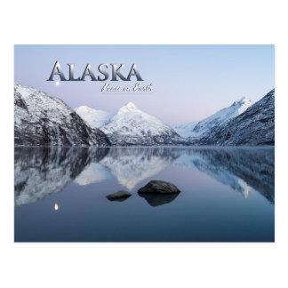Alaska-Weltfrieden Postkarte