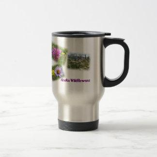 Alaska-Wildblumen I Reisebecher