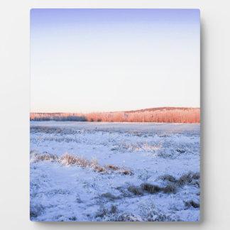 Alaska-Winter sunkissed4 Fotoplatte