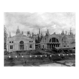 Alaska-Yukon-Pazifische Ausstellung 1908 Vintag Postkarte