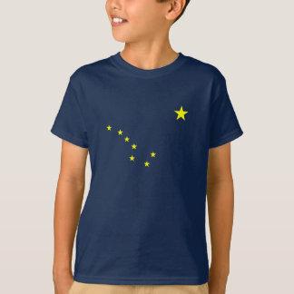 Alaskas Flagge scherzt T - Shirt
