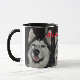 Alaskische heisere Kaffee-Tasse Tasse