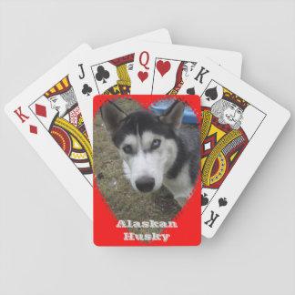 Alaskische heisere Spielkarten