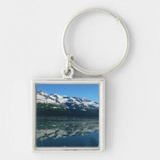 Alaskische Küstenlinien-schöne Natur-Fotografie Schlüsselanhänger