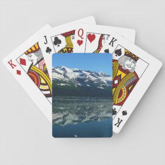 Alaskische Küstenlinien-schöne Natur-Fotografie Spielkarten