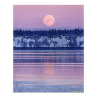 Alaskische Landschaft Fotodruck