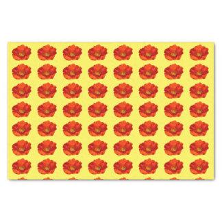 Alaskische rote Mohnblumen-bunte Blume Seidenpapier