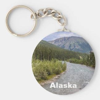 Alaskische Wildnis Schlüsselanhänger
