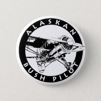 Alaskischer Bush-Pilotknopf Runder Button 5,7 Cm