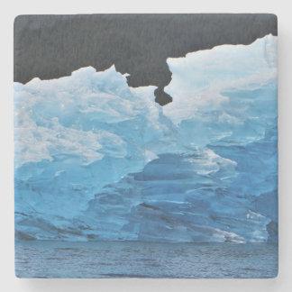 Alaskischer Eisberg-Marmor-Untersetzer Steinuntersetzer