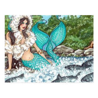 Alaskischer Engel Postkarte