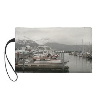 Alaskischer Hafen Mini-geldbeutel