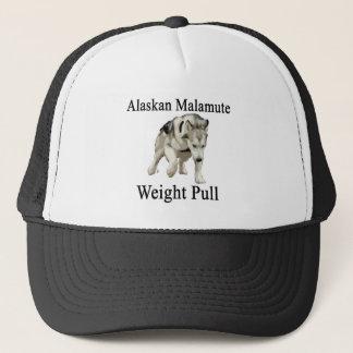 Alaskischer Malamute-Gewichts-Zug Truckerkappe