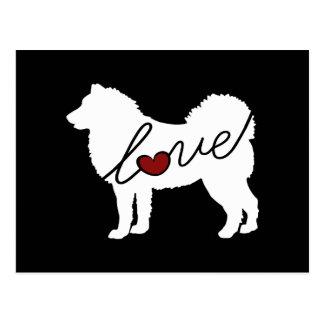 Alaskischer Malamute-Liebe Postkarte