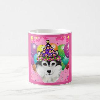 Alaskischer Malamute-Party-Hund Kaffeetasse