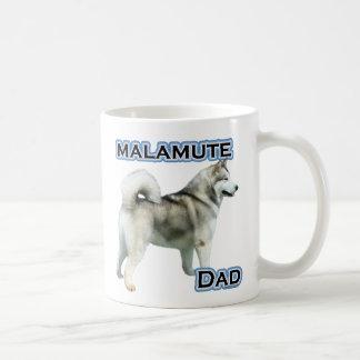 Alaskischer Malamute-Vati 4 Kaffeetasse