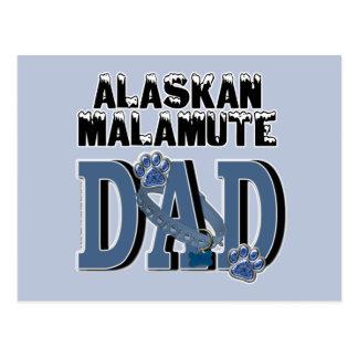 Alaskischer Malamute VATI Postkarte