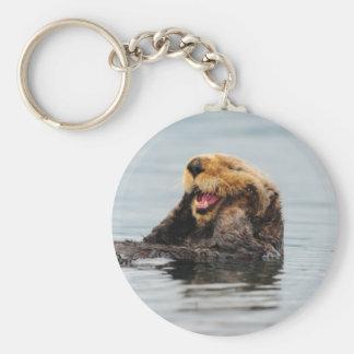 Alaskischer Seeotter-Schlüsselkette Schlüsselbänder