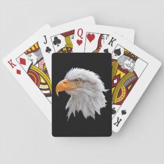 Alaskischer Weißkopfseeadler-Spielkarten Spielkarten