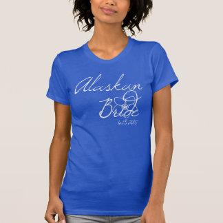 Alaskisches Braut-T-Stück T-Shirt