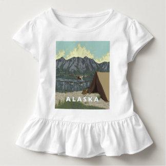 Alaskisches Bush-Baby-Kleinkind Kleinkind T-shirt