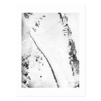 Alaskisches Klondikers Postkarte