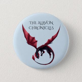 Alavon Drache Ouroboros 2 1/4 im runden Knopf Runder Button 5,1 Cm